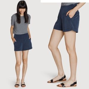 Kit and ace washable stretch silk casual shorts